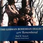 The German Bohemian Dialect